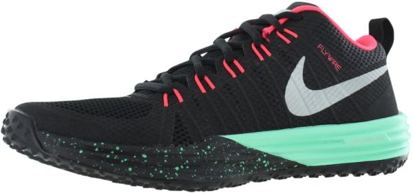 new product 0f3ac 2ac00 Nike Lunar Trainer 1 Nrg Cross Training Shoes for Men, Black Green Glow