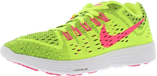 cheap for discount bc172 c6e31 reduced nike lunar tempo womens pink yellow c3fdc d49b5