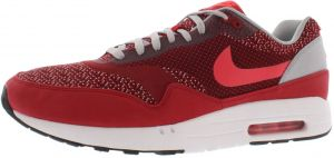 the latest 5a6f2 3b1b8 Nike Air Max 1 Jcrd Running Shoes for Men, Gym Red Laser Crimson Light  Crimson