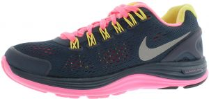 the latest 35cc2 2ec52 Nike Lunarglide+ 4 Running Shoes for Women, Squadron BluePolarized PinkElectric  Yellow