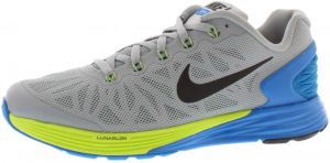 pretty nice 985bc 2afd7 ... australia nike lunarglide 6 gradeschool running shoes for boys lite magnet  grey black photo blue volt