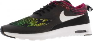 reputable site 5b290 9ff2a Nike Air Max Thea Print Running Shoes for Women, Black White Bright Magnet red  Volt