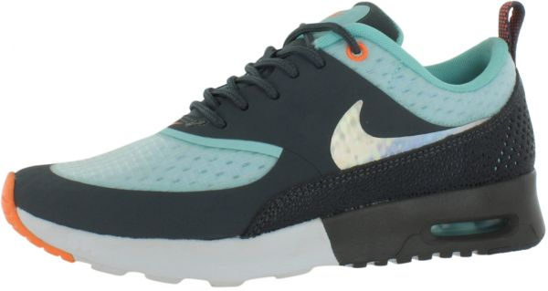 sports shoes 0ea8a 61ff1 Nike Air Max Thea Prm Running Shoes for Women, White Metallic Silver Dark  Grey Glacier Ice   Souq - UAE