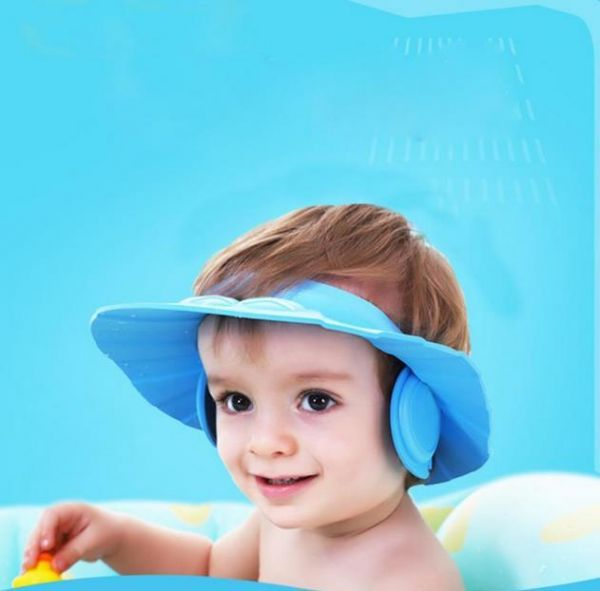 Protect the Ears Shampoo Children Shampoo Bath Bathing Shower Cap Hat Wash  Hair Shield Hat 6a8b52ffe8fa