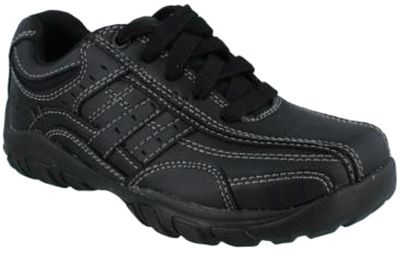 5a635008ce245 Skechers Relaxed Fit Grambler Running Shoes for Boys - Black