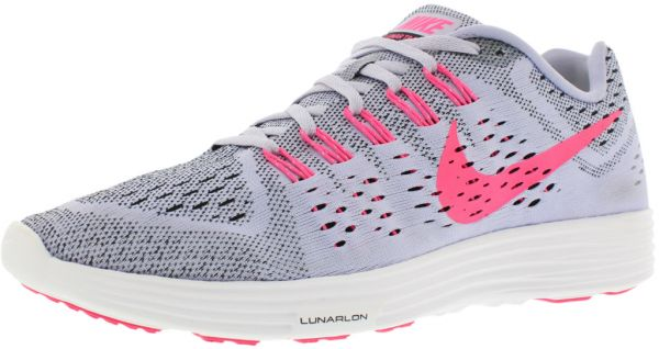 huge selection of 26f87 a174f ... new style nike lunar tempo running shoes for women titanium pink pow  black white 88640 01c77