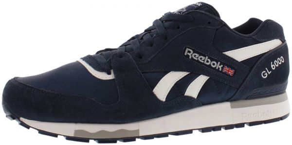a0751a8aae8 Reebok Gl 6000 Running Shoes for Men - Navy White Tin Grey