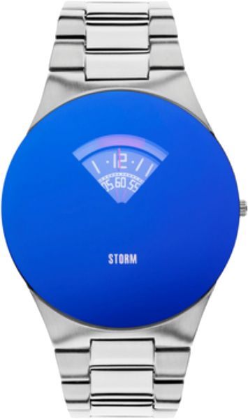 Storm Oblex Men s Lazer Blue Dial Stainless Steel Band Watch - ST-47280 B f1fc096e063