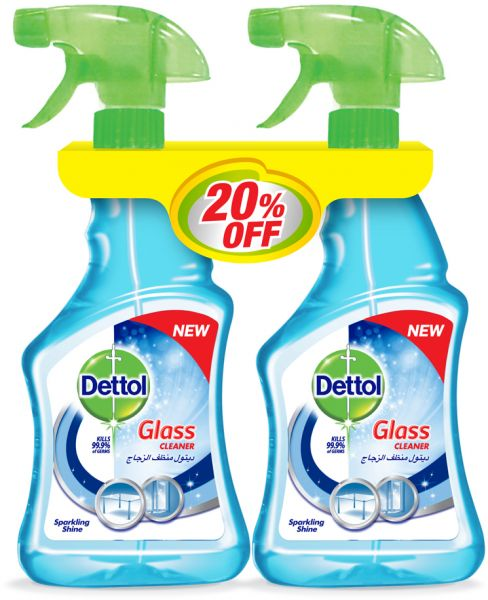 d003f3734be8 Dettol Glass Cleaner 500 ml - Pack Of 2