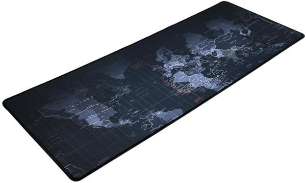 Sensational World Map Gaming Mouse Pad Portable Large Desk Pad 300X700X2Mm Home Remodeling Inspirations Gresiscottssportslandcom