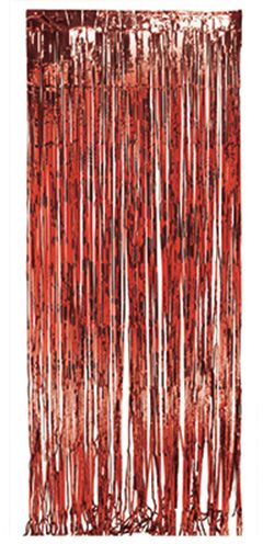 Creative Converting Foil Fringe Door Curtain