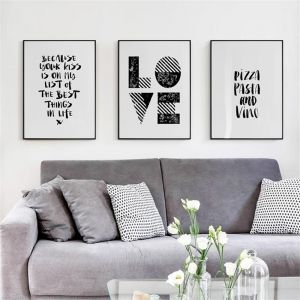 3 picture frames on wall beach style souq wall frames quotes home decor 60 40cm pieces set kuwait