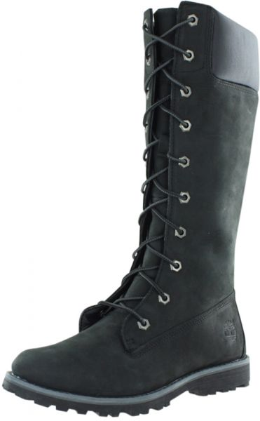 f32636dbe74 Timberland Black Lace Up Boot For Girls
