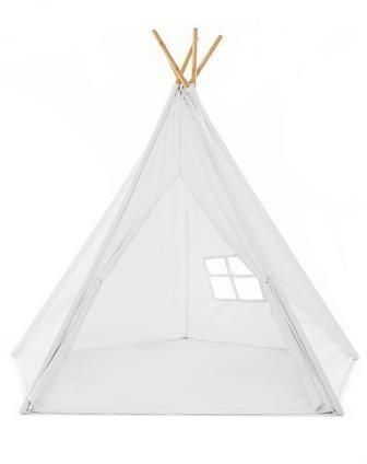 100% Natural Cotton Canvas Teepee Tent for Kids Comes with Carrying Bag and Floor Mat  White | Souq - UAE  sc 1 st  Souq.com : teepee canopy - afamca.org