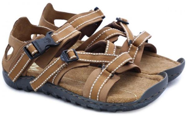 4c9432d88fd48 Woodland Camel Comfort Sandal For Men