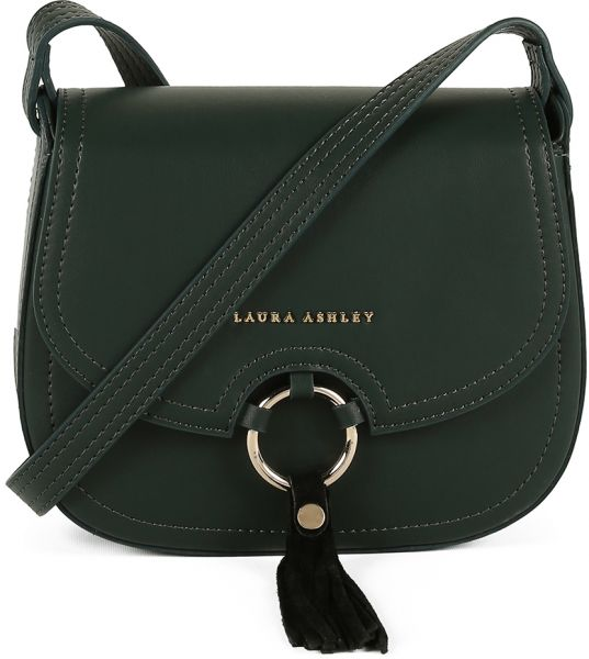 Laura Ashley Daisy Flap Bag For Women Green