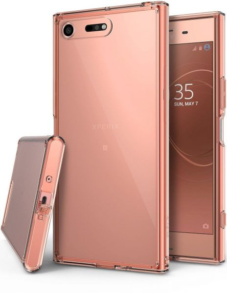 info for 275a0 ec520 Sony Xperia XZ Premium Case Cover , Ringke , Clear Back Panel , Rose Gold  Crystal Bumper
