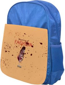 b585ea77978c Meaning of Fashion Printed school bag for kids