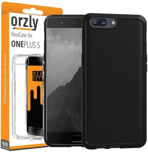 OnePlus 5 Orzly Flexi Series TPU Case Cover