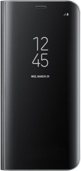 save off 398a8 83ce4 Samsung Galaxy S8+ Optimized Viewing Angle Clear View Standing Cover