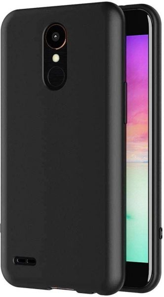 competitive price 4b231 2af91 Silicone Back Cover Case by Ineix for LG K8 (2017) - BLACK