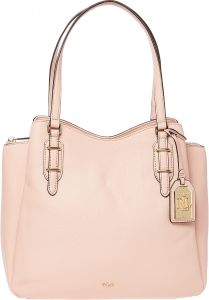 e0f3077fe6 Lauren by Ralph Lauren Easby Fenmore Hobo Bag for Women - Pink