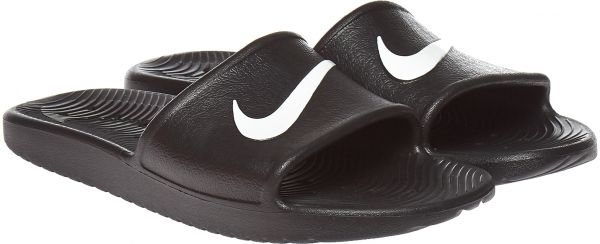 222b5d62d Nike Kawa Shower Slides for Men - Black. by Nike