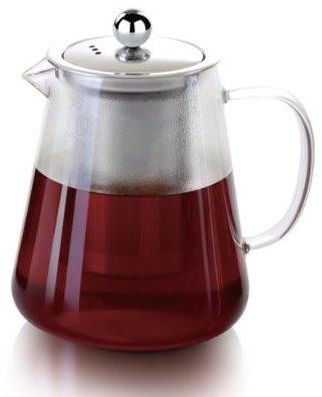 Royalford Glass Tea Pot with Strainer 960ml