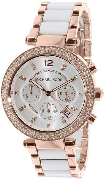 458f877f8 Michael Kors Parker Ceramic Women's White Dial Ceramic Band Watch - MK5774.  by Michael Kors, Watches - Be the first to rate this product