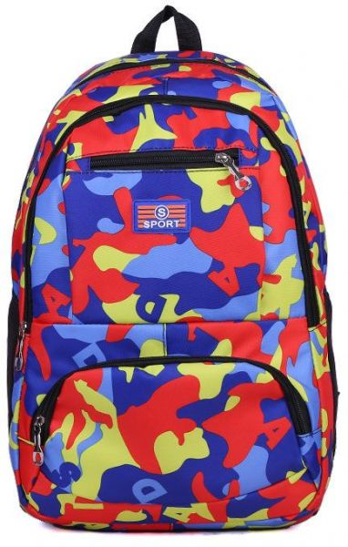a61cc59a8b5 Camouflage Kid School Bag Travel Backpack Bags For Cool Boy And Girl ...
