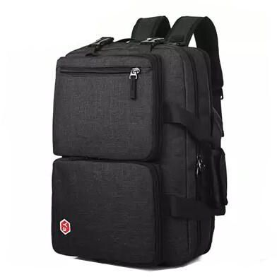 f28001b08e Multifunction backpack waterproof laptop bag school bag travelling bag  black