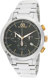 a316c230d 88 Rue Du Rhone Men's Black Dial Stainless Steel Band Watch - 87WA154303