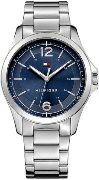 2616b42a Tommy Hilfiger Essential Men's Blue Dial Stainless Steel Band Watch -  1791378. by Tommy Hilfiger, Watches - 21 reviews