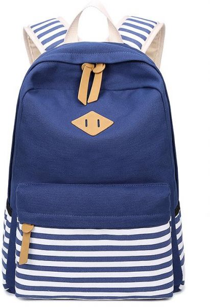 Canvas Backpack Men Fashion Rucksack Boys Satchel Students School Bag  a4418be236843