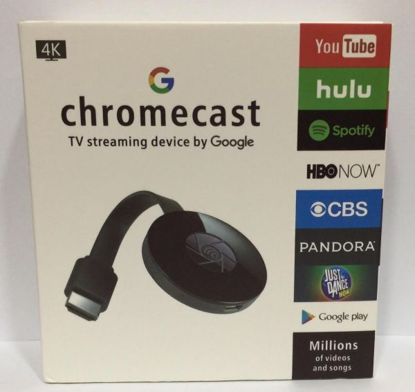 CHROME CAST EASIEST WAY TO WATCH ONLINE VIDEO ON YOUR TV, ANDROID, IOS,  WINDOWS - BLACK