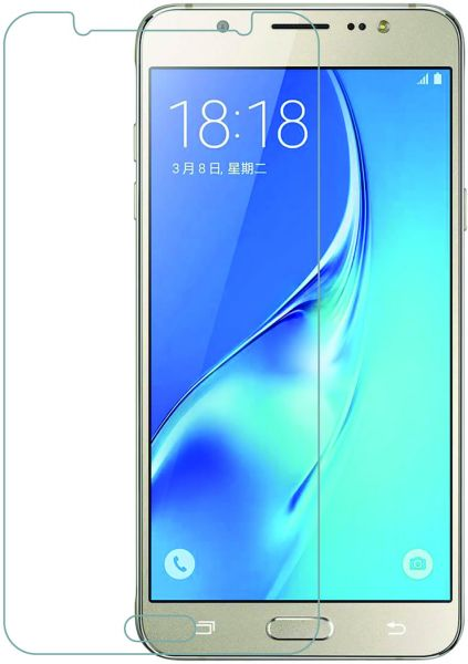 newest b81b5 f8f64 Tempered glass screen protector for samsung galaxy j7 core 2.5D arced edges