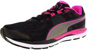 Puma Speed 600 Ignite Running Shoes for Men, Black & Pink ...
