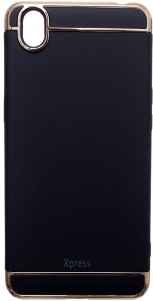 Xpress Back Cover For Oppo A37, Black
