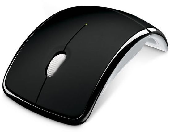 Microsoft ZJA-00065 Arc Wireless Mouse - Black