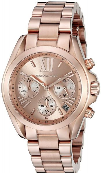 a9b841df6fcb Michael Kors Bradshaw for Women - Casual Stainless Steel Band Watch ...