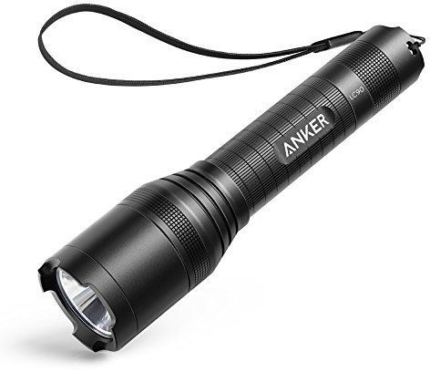 Anker LC90 Flashlight, Black