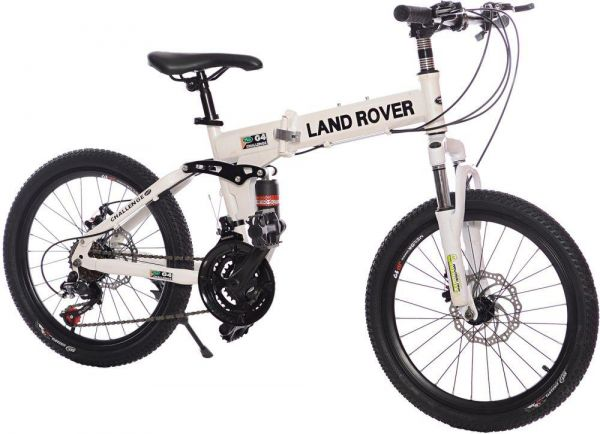 Land Rover Mountain Bikes 20 inch 21 speeds Suspension Folding Bike ...