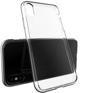 Transparent Ultra-Thin TPU Soft Skin Silicone Protective Case Cover - Clear