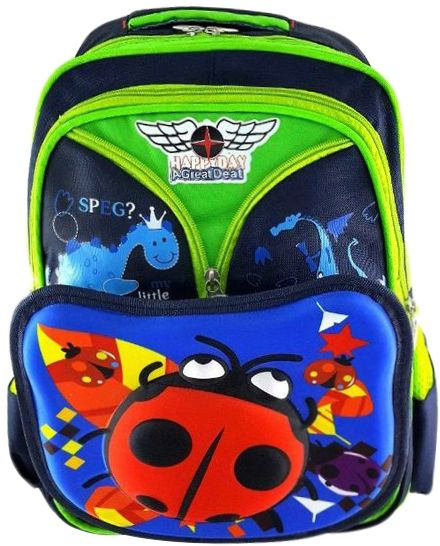 e71c4b5e3a1d Gifts and More 3D Ladybug 16 inch Backpack For Boys - Multicolor ...