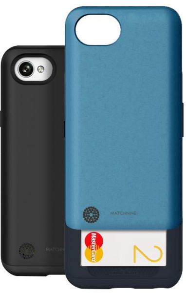 super popular d2ff5 6baa4 LG Q6/Q6 Plus Matchnine Cardla Back Case Cover - Niagara Blue