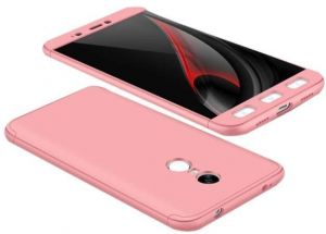 Xiaomi Redmi Note 4 Gkk 360 Full Protection Cover Case - Pink