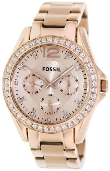a2e56706ac0 Fossil Dress Watch For Women Analog Stainless Steel - ES2811