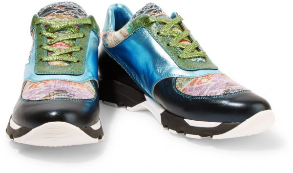 Glittered For And Running Missoni WomenMulti Color Metallic Shoes L54RAj