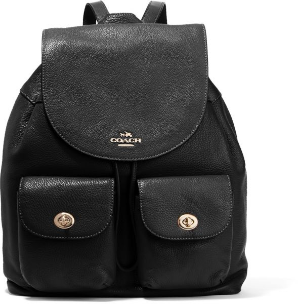 b07cef00dd6e Coach Billie Textured Fashion Backpack for Women - Leather