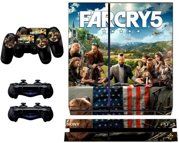 PS4 Far Cry 5 Skin For PlayStation 4 | Souq - Egypt